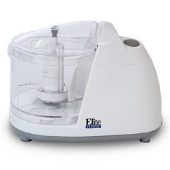 Elite Cuisine 1.5-Cup Mini Food Chopper