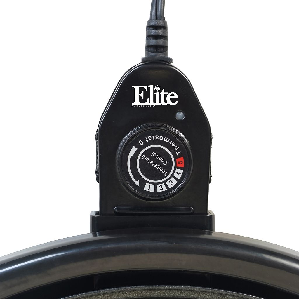 Elite Gourmet 14-in. Indoor Electric Grill