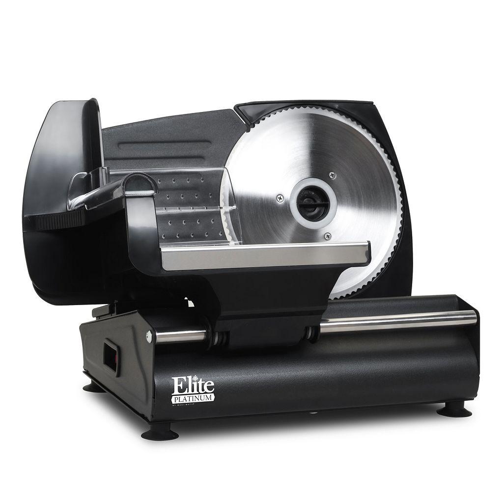 Elite Platinum Electric Food & Meat Slicer