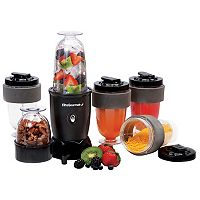 Elite Cuisine 17-pc. Personal Drink Blender System