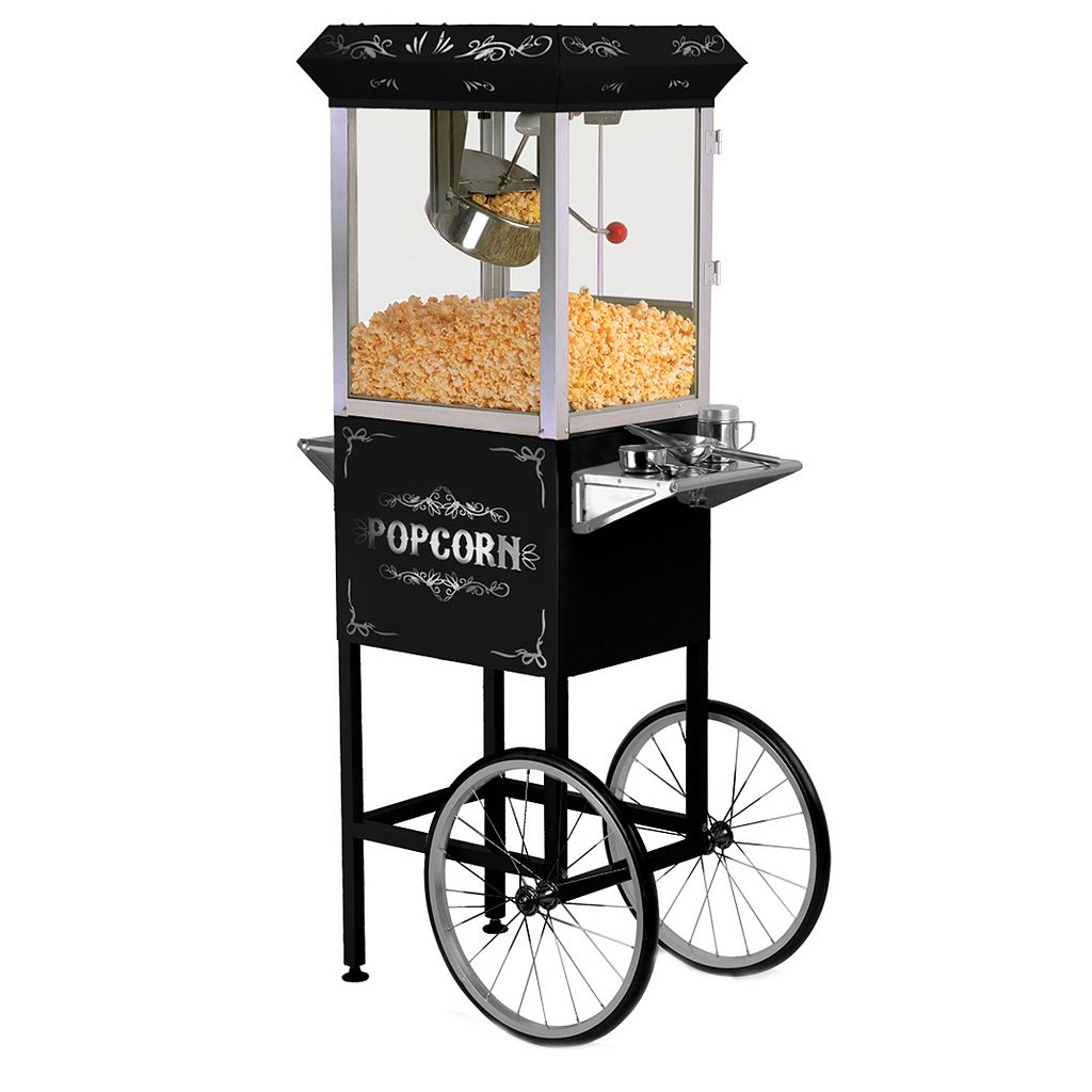 Elite Deluxe 8-oz. Old-Fashioned Kettle Popcorn Trolley