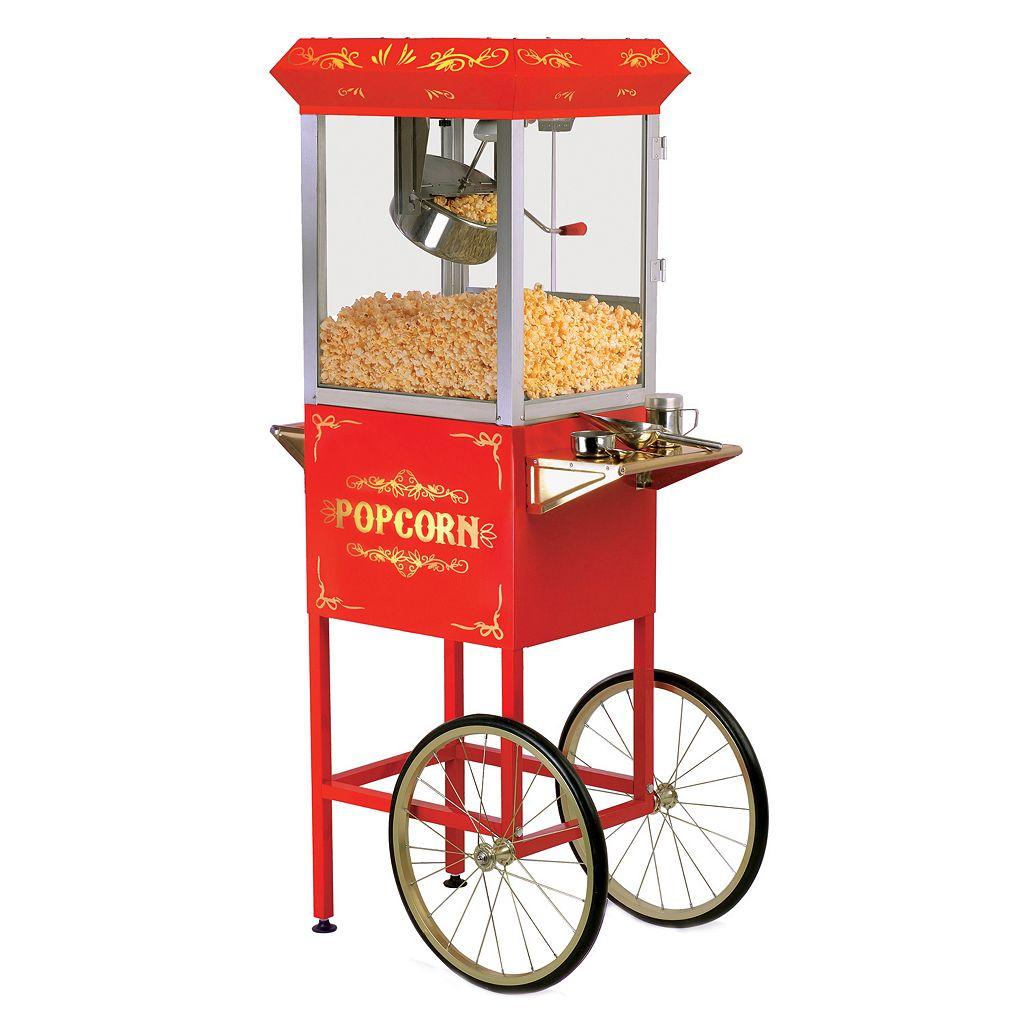Elite Deluxe 8-oz. Old-Fashioned Kettle Popcorn Trolley