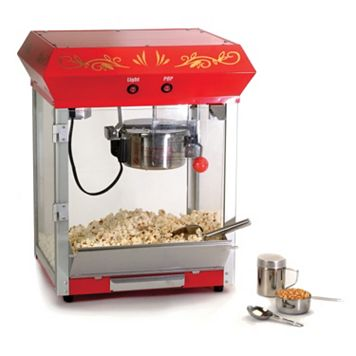 Elite Deluxe 4-oz. Tabletop Kettle Popcorn Maker
