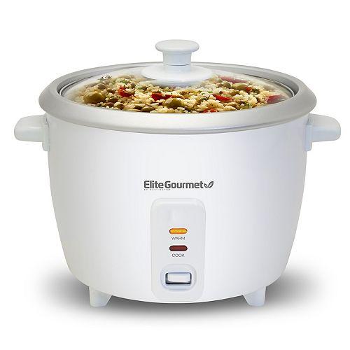 Elite Cuisine 6-Cup Rice Cooker