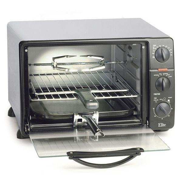 Elite Countertop Oven : Kohls.com Elite Cuisine Elite Cuisine Toaster Oven Broiler: questions ...