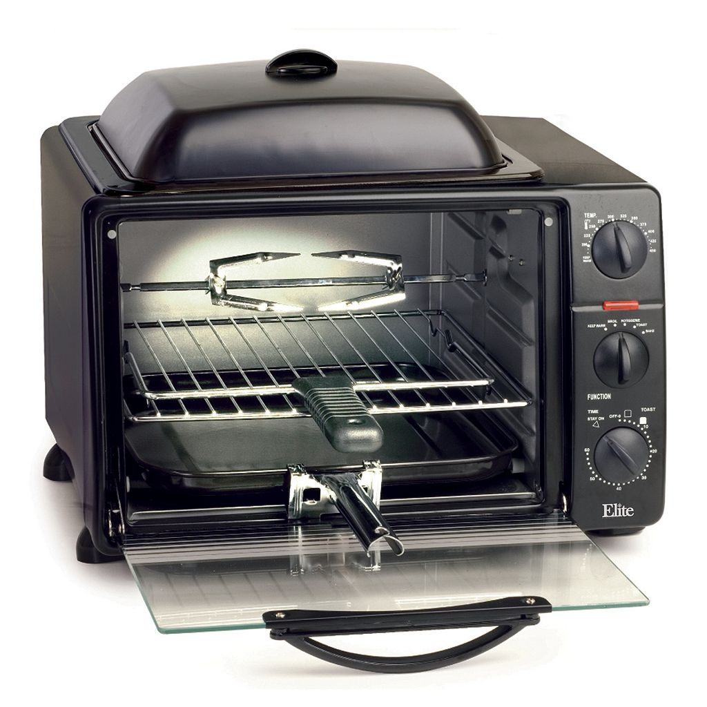 Elite Cuisine Toaster Oven and Griddle