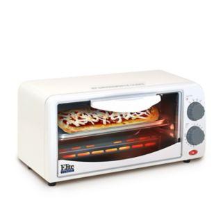 Elite Cuisine 2-Slice Toaster Oven with Broiler