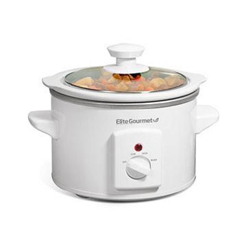 Elite Cuisine 1.5-qt. Mini Round Slow Cooker