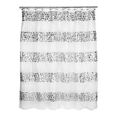 Sinatra Fabric Shower Curtain
