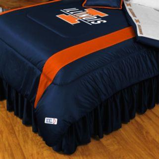 Illinois Fighting Illini Sidelines Comforter - Twin