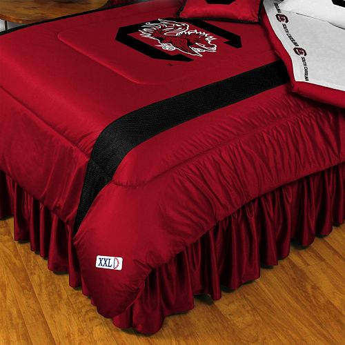 South Carolina Gamecocks Sidelines Comforter - Twin