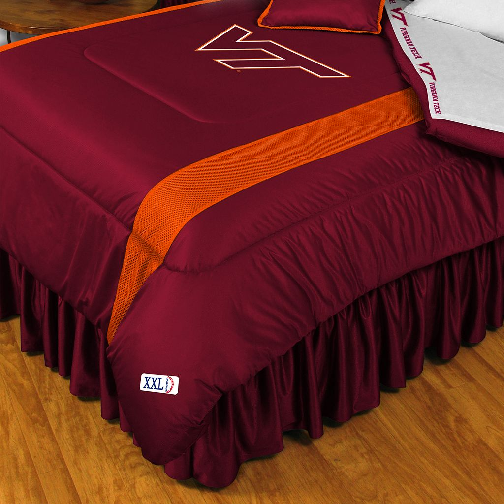 Virginia Tech Hokies Sidelines Comforter - Twin