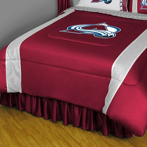 Colorado Avalanche Sidelines Comforter - Twin