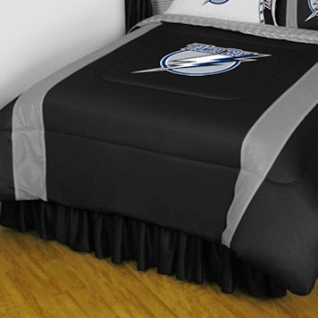 Tampa Bay Lightning Sidelines Comforter - Twin