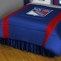 New York Rangers Sidelines Comforter - Twin