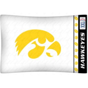 Iowa Hawkeyes Standard Pillowcase