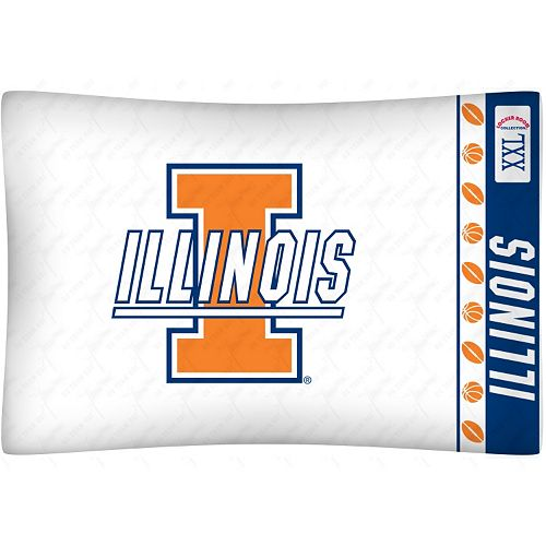Illinois Fighting Illini Standard Pillowcase
