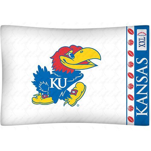 Kansas Jayhawks Standard Pillowcase