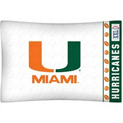 Miami Hurricanes Standard Pillowcase