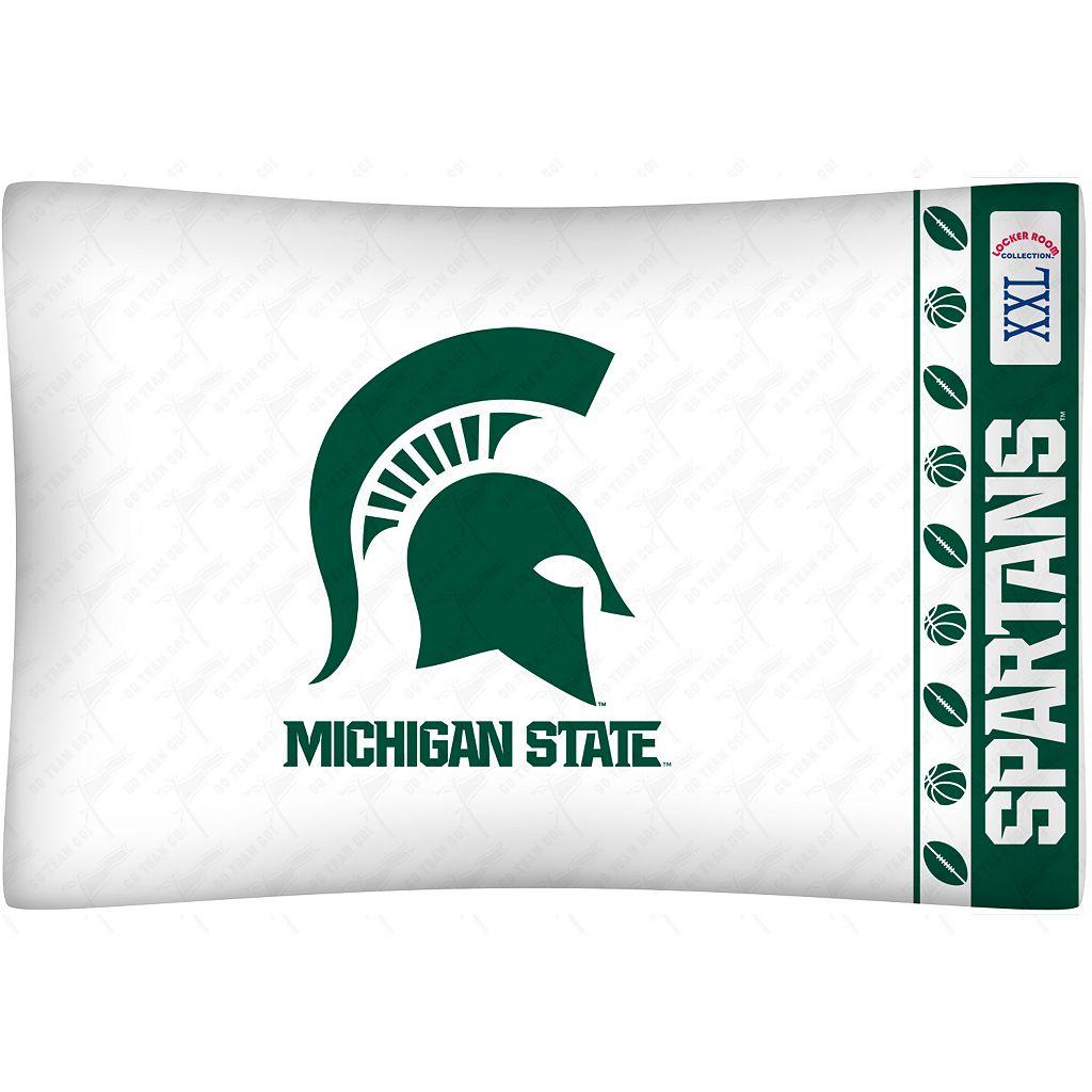 Michigan State Spartans Standard Pillowcase