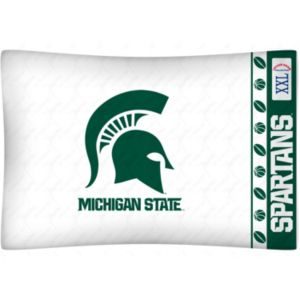Michigan State Spartans Standard Pillowcase
