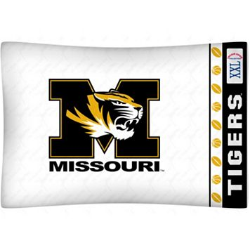 Missouri Tigers Standard Pillowcase