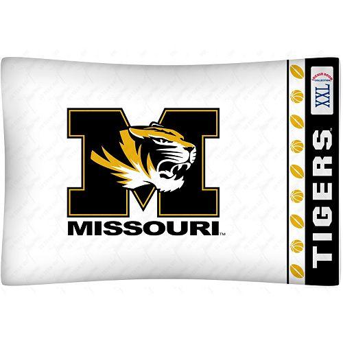 Missouri Tigers Standard Pillowcase