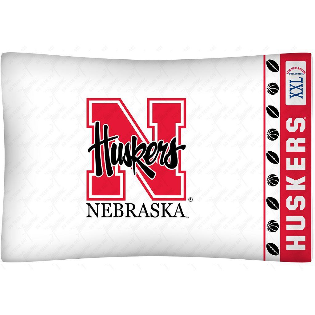 Nebraska Cornhuskers Standard Pillowcase