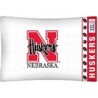 Nebraska Cornhuskers Standard Pillowcase