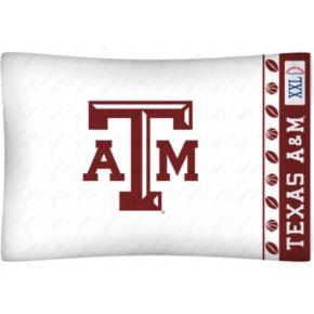 Texas AandM Aggies Standard Pillowcase