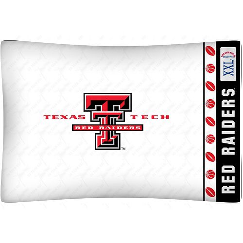 Texas Tech Red Raiders Standard Pillowcase