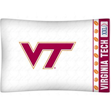 Virginia Tech Hokies Standard Pillowcase