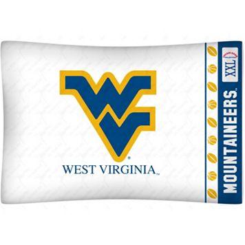 West Virginia Mountaineers Standard Pillowcase