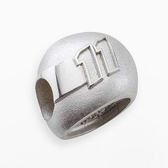 Insignia Collection NASCAR Denny Hamlin Sterling Silver '11' Helmet Bead