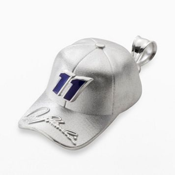 Insignia Collection NASCAR Denny Hamlin Sterling Silver