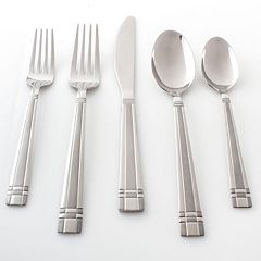 Cambridge Axis Sand 51 pc Flatware Set