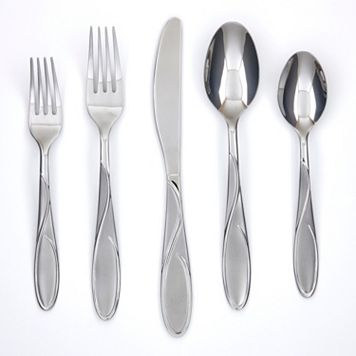 Cambridge Gabriela Sand 51-pc. Flatware Set