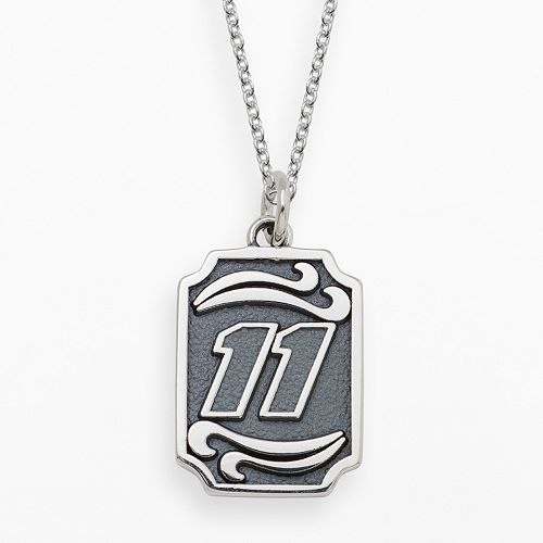Insignia Collection NASCAR Denny Hamlin Sterling Silver