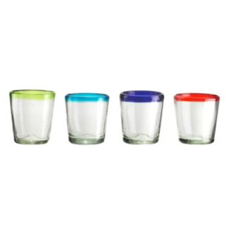Amici by Global Amici Baja 4-pc. Double Old-Fashioned Glass Set