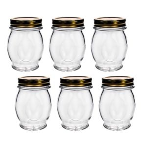 Amici by Global Amici Orto 6-pack Canning Jars