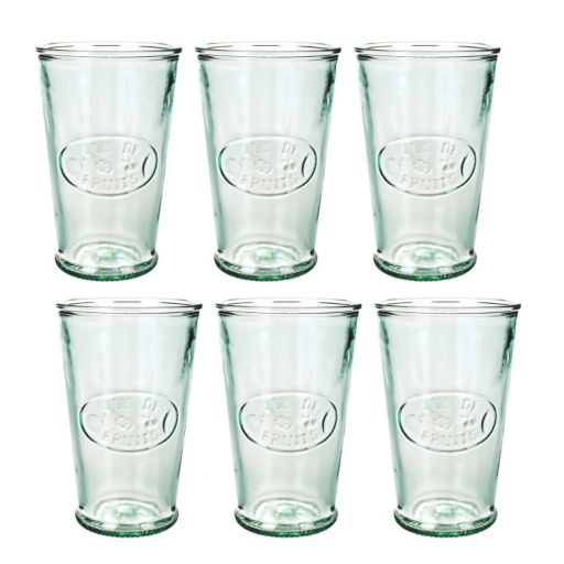 Amici by Global Amici Jus De Fruits Green 6-pc. Glass Set