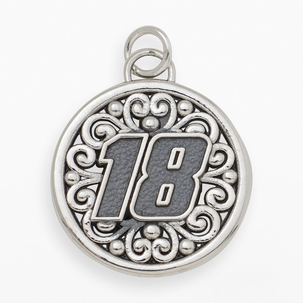 Insignia Collection NASCAR Kyle Busch Sterling Silver