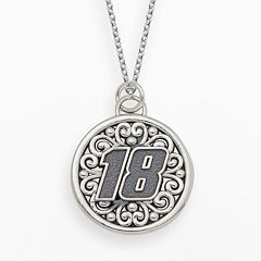 Insignia Collection NASCAR Kyle Busch Sterling Silver '18' Pendant
