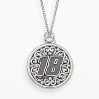 Insignia Collection NASCAR Kyle Busch Sterling Silver 18 Pendant
