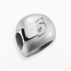 Insignia Collection NASCAR Kasey Kahne Sterling Silver '5' Helmet Bead