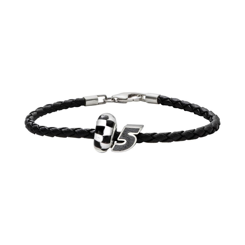 Insignia Collection NASCAR Kasey Kahne Leather Bracelet & Bead Set