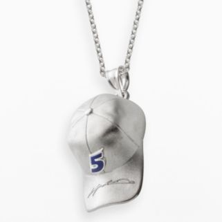 Insignia Collection NASCAR Kasey Kahne Sterling Silver 5 Baseball Cap Pendant