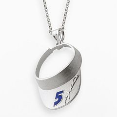 Insignia Collection NASCAR Kasey Kahne Sterling Silver '5' Visor Pendant