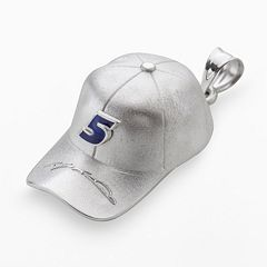 Insignia Collection NASCAR Kasey Kahne Sterling Silver '5' Baseball Cap Pendant