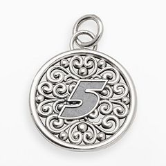 Insignia Collection NASCAR Kasey Kahne Sterling Silver '5' Pendant